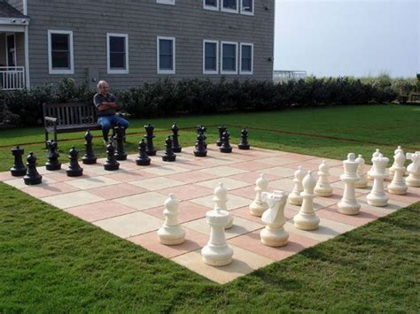 13 best images about outdoor chess set ideas on