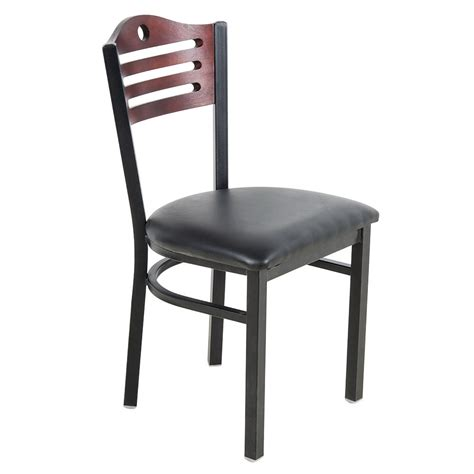 bistro chairs lancaster table seating mahogany finish bistro dining