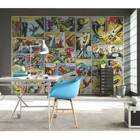 marvel comic bedroom decor marvel comics and avengers wallpaper wall murals d 201 cor bedroom