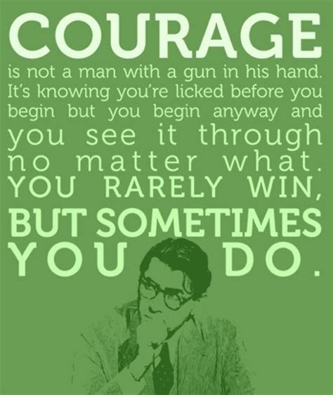 to kill a mockingbird themes on courage atticus finch quotes quotesgram