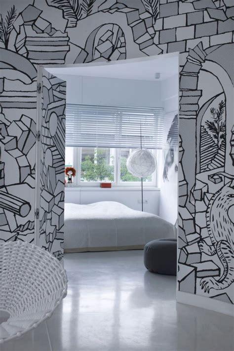 creative wall murals creative wall mural that enhanced your apartment interior
