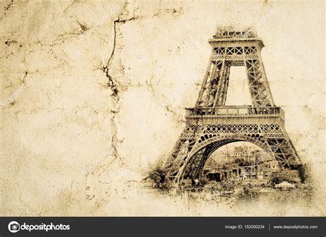 imagenes vintage de la torre eiffel torre eiffel en par 237 s fondo de vista vintage foto
