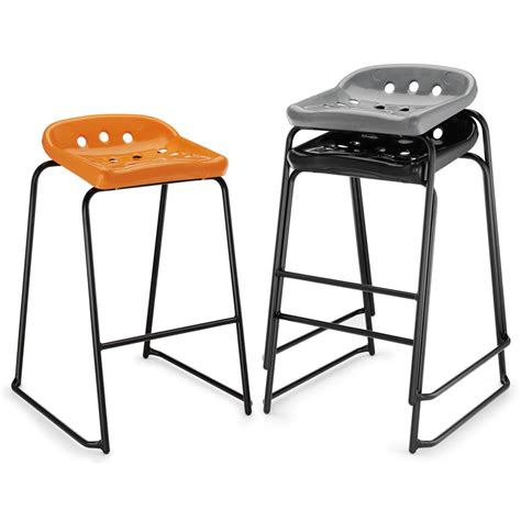 School Stools by Pepperpot School Lab Craft Stool