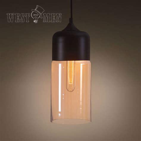 antik yang modern kaca diy tabung bentuk liontin cahaya