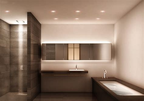 awesome modern bathroom lights contemporary home