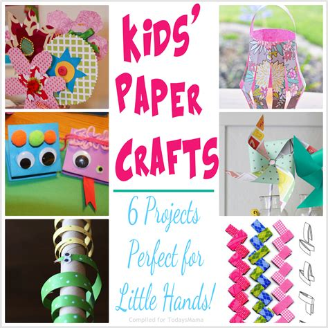 Paper Crafts For Toddlers - todaysmama paper crafts projects for