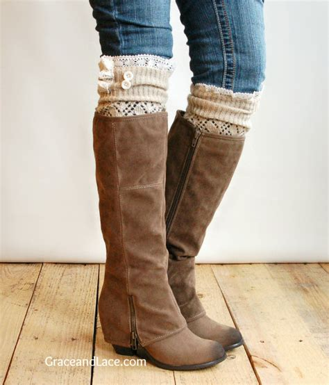 socks for boots one minute diy boot socks tutorial endlessly inspired