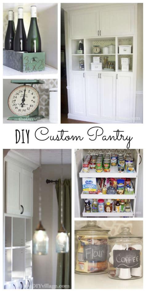 custom kitchen pantry reveal the diy
