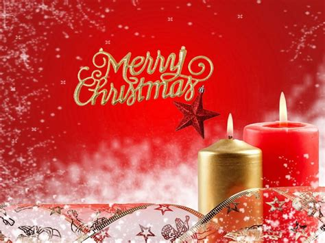 christmas candles merry christmas red wallpaper hd  wallpaperscom