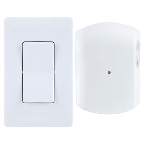 Ge Wireless Remote Wall Switch Light Control With Grounded