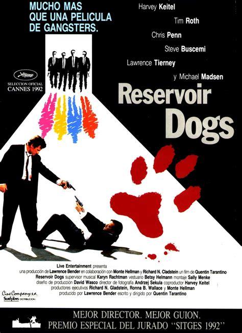 Reservoir Dogs 1992 Film The Geeky Nerfherder Movie Poster Art Reservoir Dogs 1992