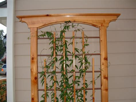 trellis designs plans cedar and copper trellis by grimejr lumberjocks com