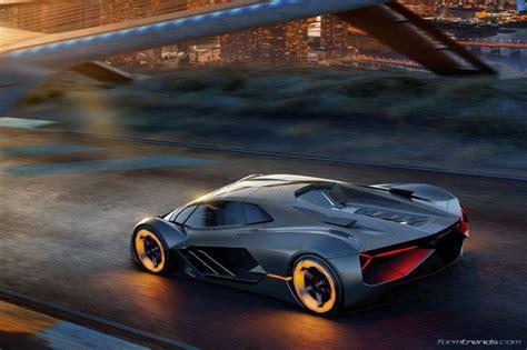 Lamborghini Centro Stile Lamborghini Terzo Millennio The Next Supercar Phase