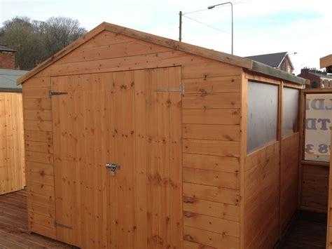 apex garden shed wooden sheds tg ebay