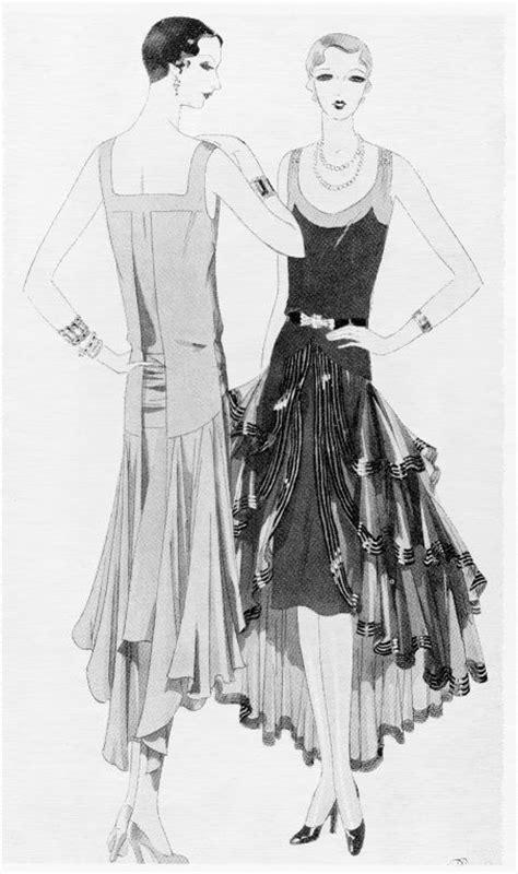 1920s jazz age fashion and photographs books 20s fashion illustration vintage photos etc