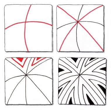 easy zentangle pattern ideas step by step tangles for people who doodle new zentangle pattern by