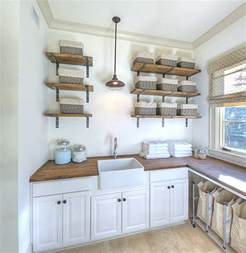 Rustic Kitchen Design Ideas eye catching laundry room shelving ideas