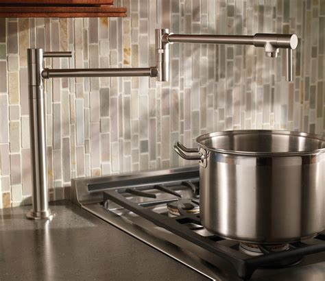 Moen Kitchen Faucet Models learn more about pot filler height the homy design