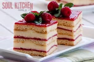 himbeer sahne kuchen vanilla raspberry cake soul kitchen