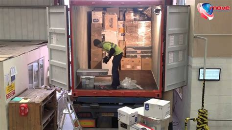 full container loading st move international youtube