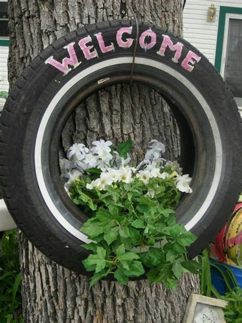 Tire Garden Ideas 25 Best Ideas About Tire Planters On Tires Ideas Tire Garden And Large Diy Planters