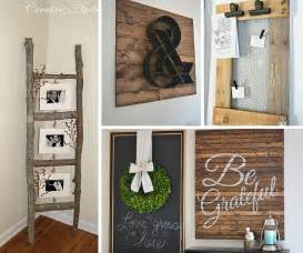 Diy Home Decor by 31 Rustic Diy Home Decor Projects Refresh Restyle