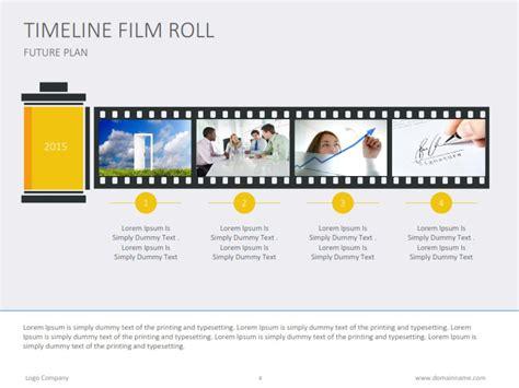 timeline film roll flat by slideshop graphicriver