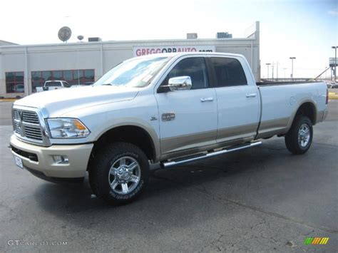 dodge 2500 white 2011 ram 2500 white 200 interior and exterior images