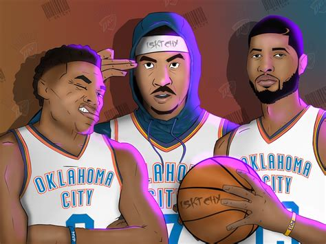 bug three 2018 okc big 3 by orlando1six3 on deviantart