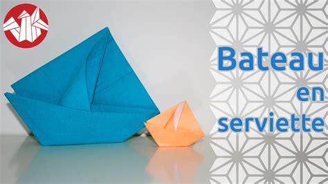 boat origami with napkins origami bateau en serviette napkin boat senbazuru