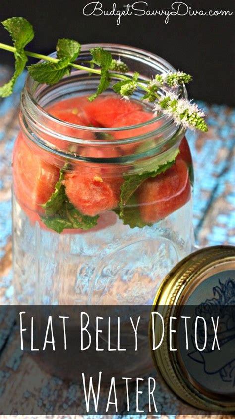 Best Burning Detox Water by Best 25 Flat Belly Water Ideas On Burning