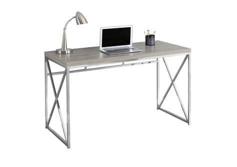 30 Inch Computer Desk Monarch Specialties 48 Inch L Adjustable Computer Desk With Side Drawers In White The Home