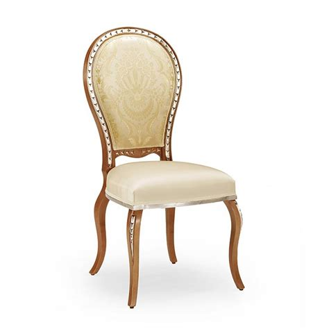 classic chair classic style chair made of wood claudia 402 sevensedie