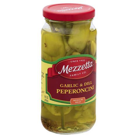 mezzetta pepperoncini garlic dill medium heat hy vee