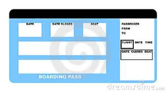 airline ticket stock photography image 9363792
