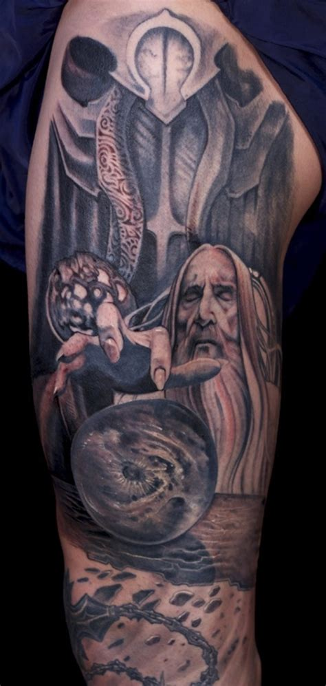 lord of the rings tattoo 25 mystic lord of the rings tattoos