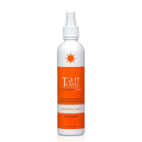8 Facts On Tanning Creams And Sprays by Tantowel Tanning Mist Sunless Tanning Spray 8 Ounce Ebay