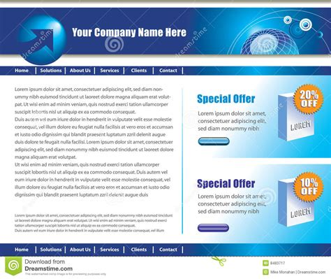 design web page layout online web page design royalty free stock photography image