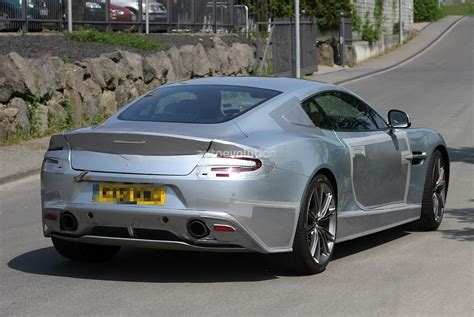 Small Aston Martin by Small V8 Aston Martin S Quot New Vanquish Quot Spied Updated
