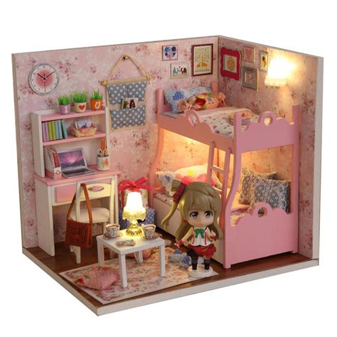 miniature dolls house accessories 1 12 diy doll house with miniature furniture accessories wooden