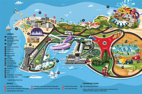 Ferrari World Location Map by Lets Soar With Eagles The United Arab Emirates Abu Dhabi