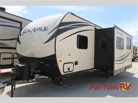 ultra light rv trailers solaire ultra lite travel trailers by palomino
