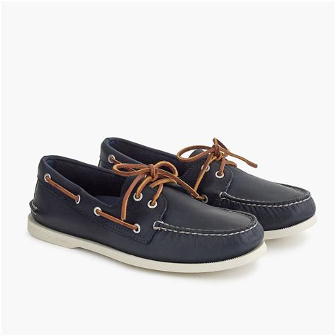 j crew boat shoes j crew sperry authentic original 2 eye boat shoes in