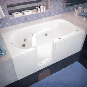 therapeutic tubs 60 quot x 30 quot whirlpool jetted step in