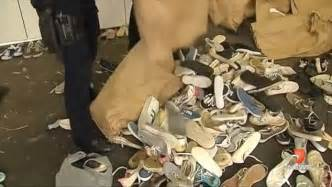 tweety bird house shoes melbourne detectives find house filled with 1000 pairs of stolen shoes daily mail online