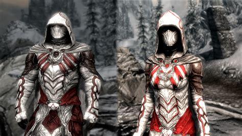 skyrim armor assassins creed nightingale retexture at skyrim nexus
