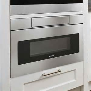 sharp 1 2 cu ft 1000w microwave drawer reviews wayfair