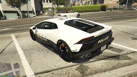 police lamborghini huracan japanese police lamborghini huracan gta5 mods com