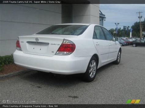 2006 Toyota Camry Xle 2006 Toyota Camry Xle V6 In White Photo No 17015431