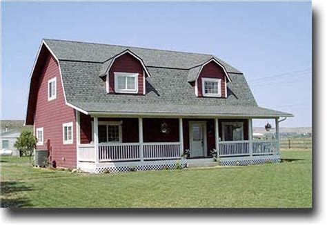 gambrel homes gambrel roof barn house www livinginsmallhouses com flickr